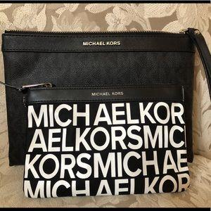 Wristlet and make up bag